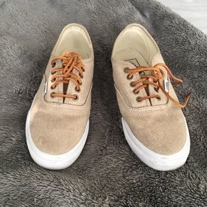 Vans with Leather Laces